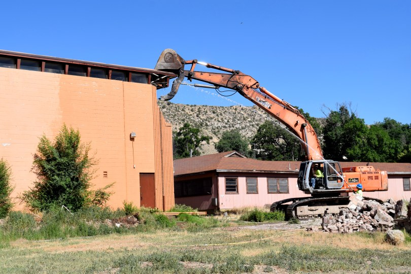Construction begins at former St. Scholastica Academy property